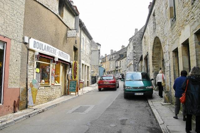 Vezelay i Auxerre w Burgundii