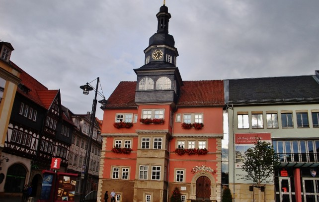 Zwiedzanie zamku Wartburg