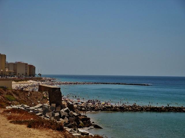 Plaże w okolicy Kadyksu