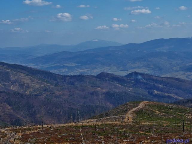 na Baranią Górę szlakiem niebieskim