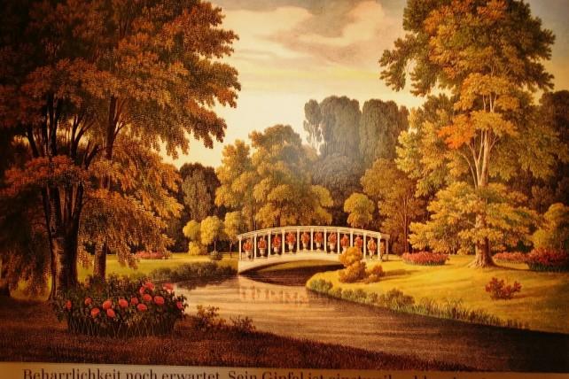 Park Mużakowski mostek