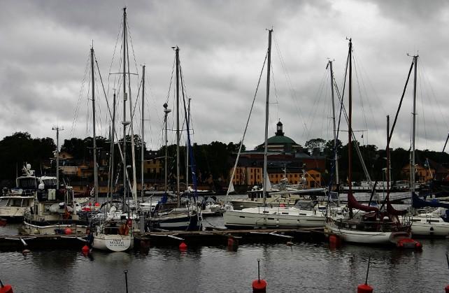 Sztokholm Wyspa Muzeów