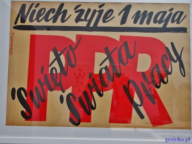 Zachęcam do Zachęty, plakat Tomaszewskiego
