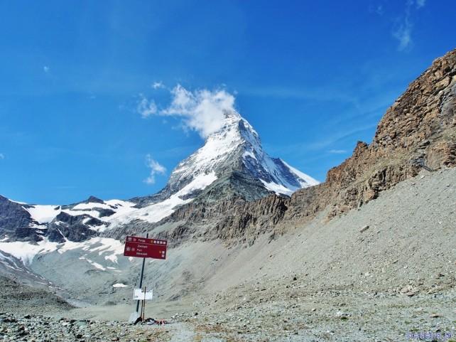 Wycieczka z widokiem na Matterhorn
