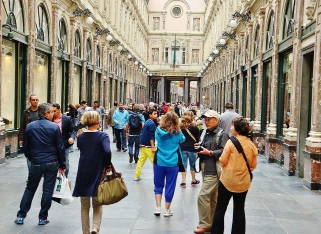 Bruksela wokół Gran Palace
