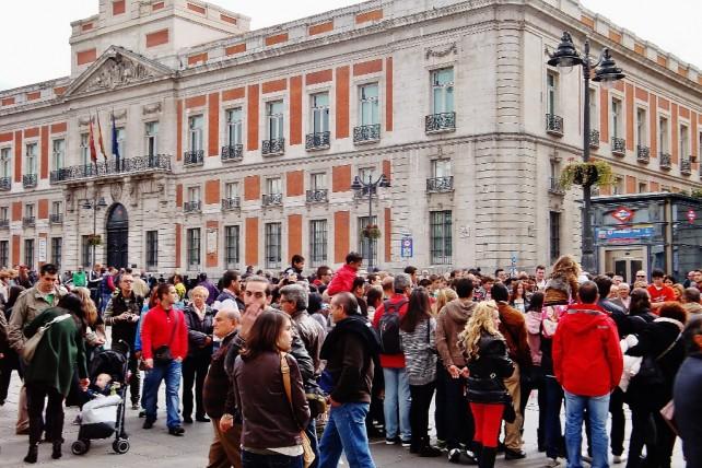 Madryt miasto szalone