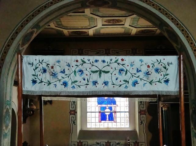 Swornegacie, w kościele też elementy kaszubskie