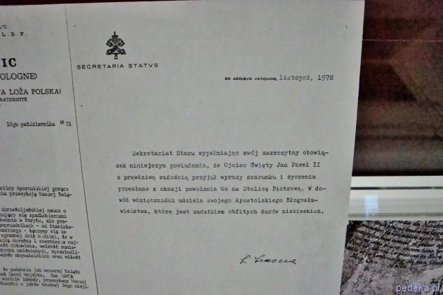 Wystawa Masoneria pro publico bono