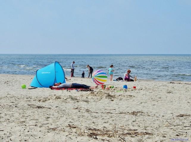 Mierzeja Wiślana, plaża