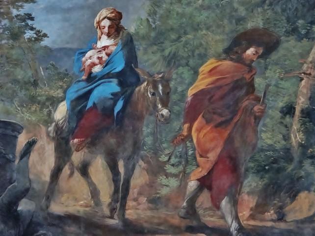 Zwiedzanie opactwa w Krzeszowie