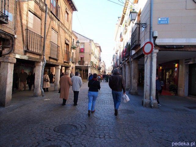 Alcala de Henares calle Mayor