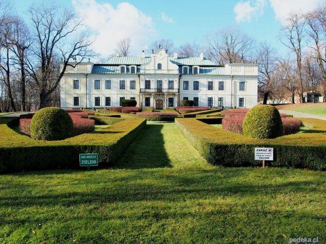 pałac Mieroszewskich, Będzin