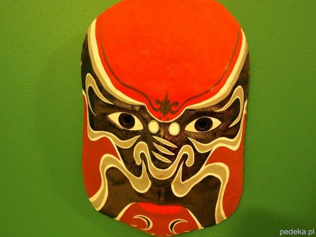 Chińskie maski w Muzeum Etnograficznym