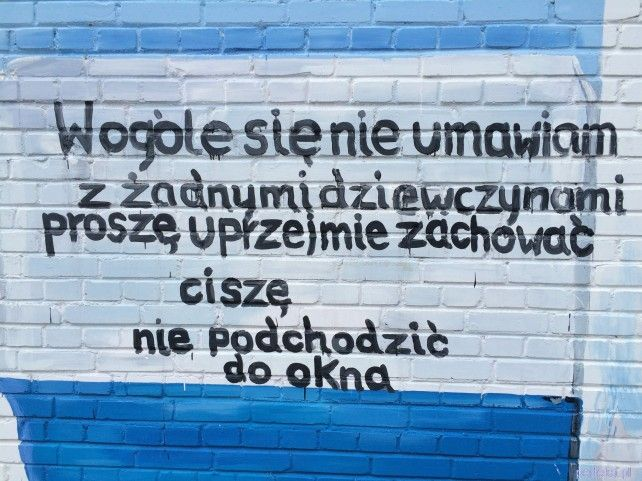 murale na Żoliborzu