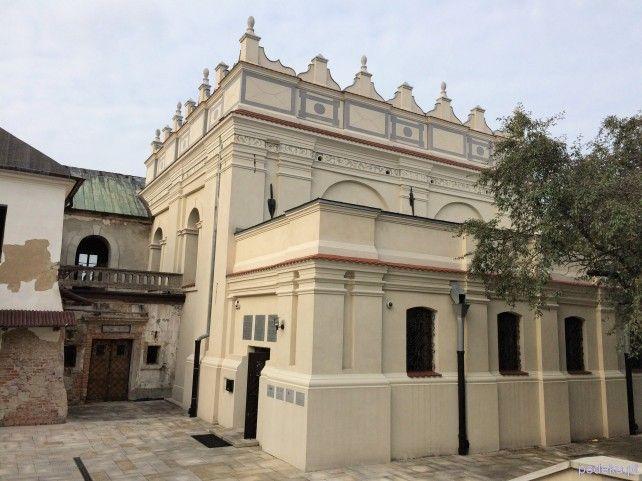Zwiedzanie Zamojszczyzny Zamość synagoga