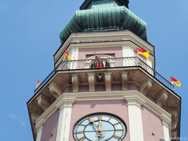 Zwiedzanie Zamojszczyzny Zamość wieża ratuszowa