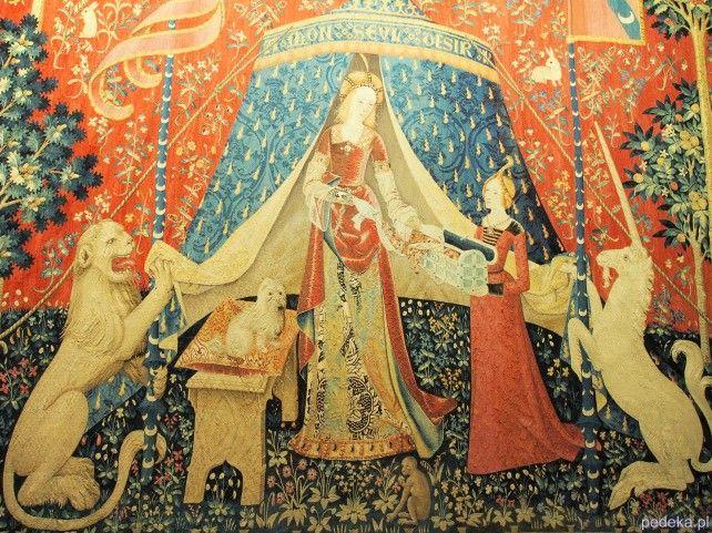 Paryż Jednorożec Muzeum Wieków Średnich