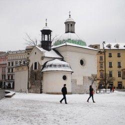 Zimowy Kraków
