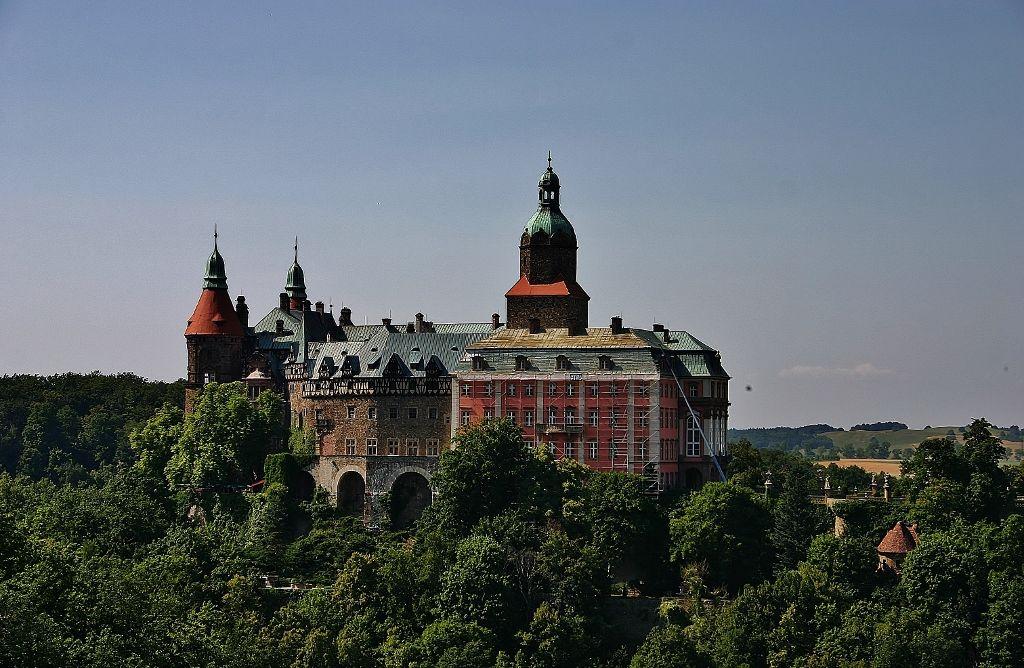 Historia zamku Książ