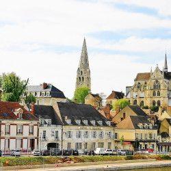 zwiedzanie Burgundii Auxerre