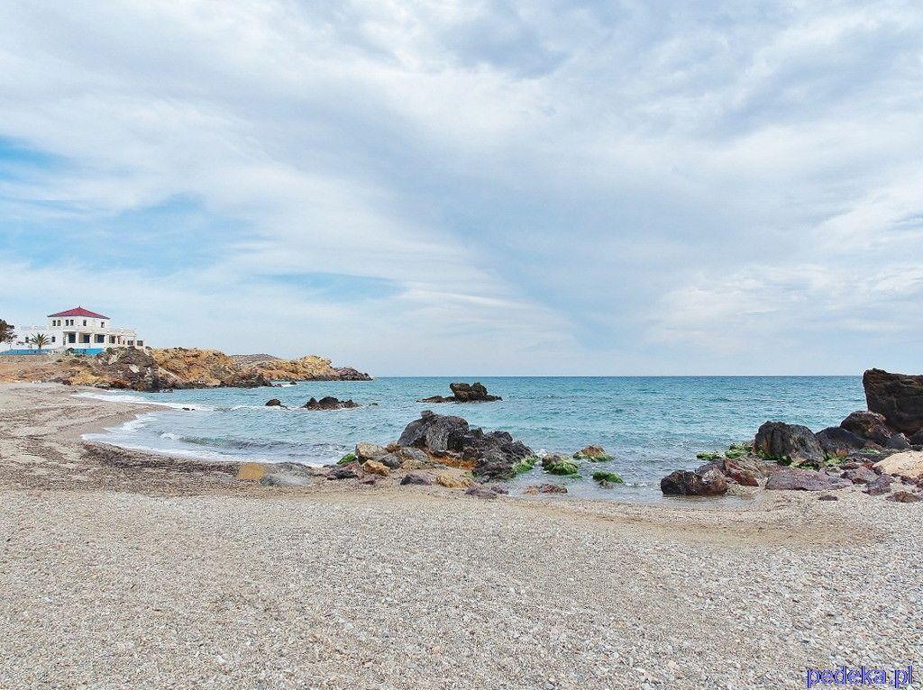 Podróże w kwietniu, Puerto de Mazarron, plaża
