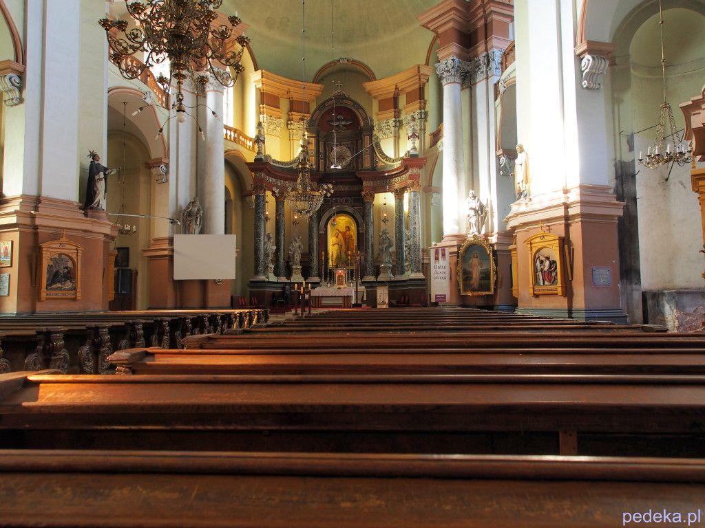 Zwiedzanie Legnicy, kościół Jana Chrzciciela