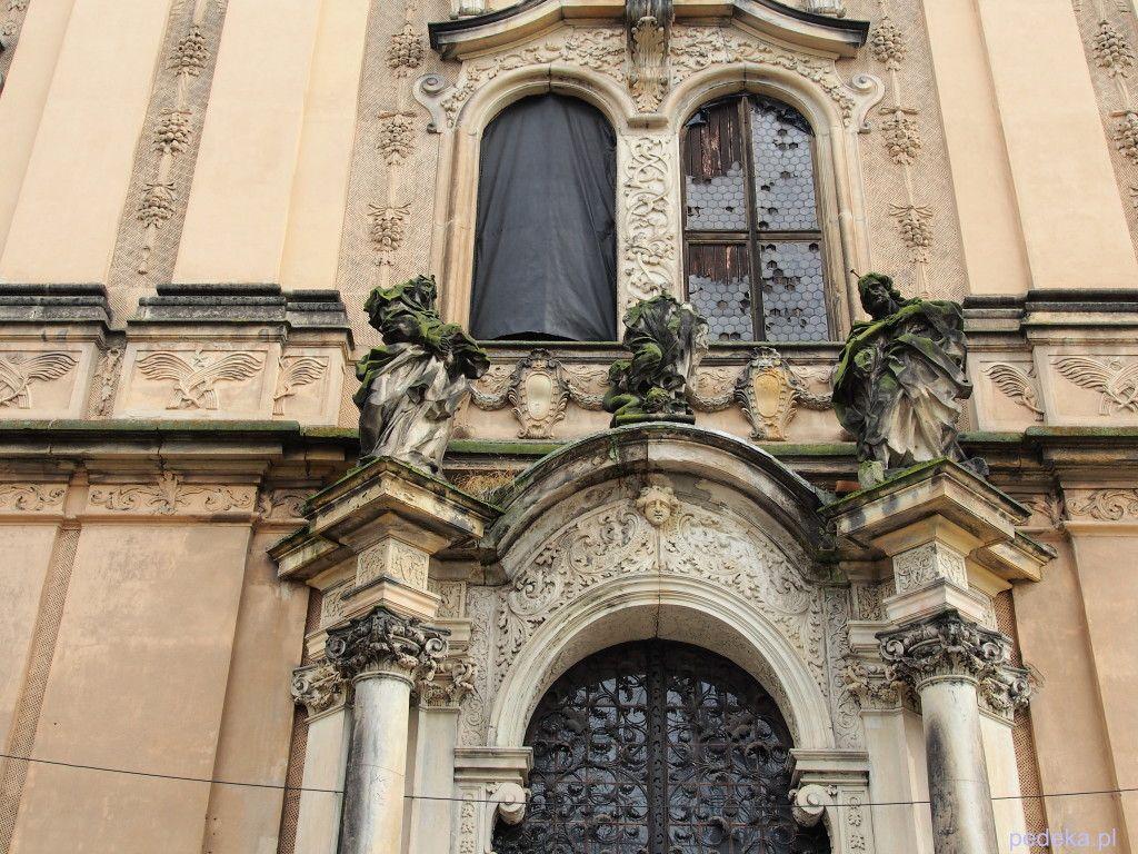 Zwiedzanie opactwo w Lubiążu