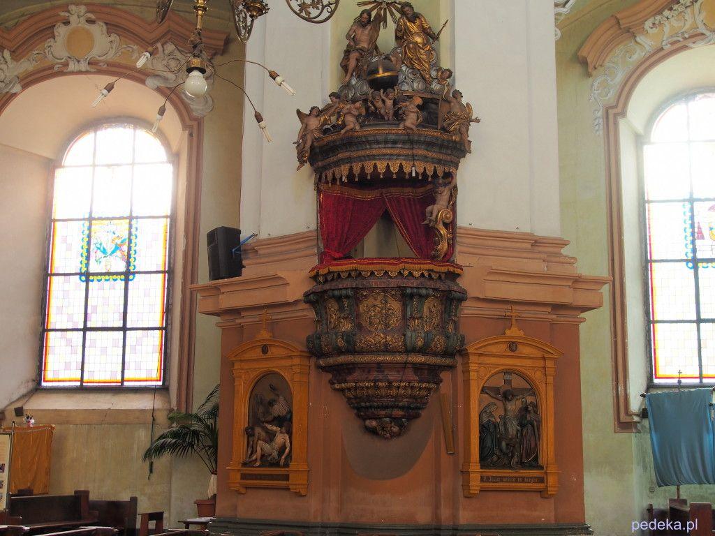 Zwiedzanie Legnicy, kościół świętego Jana Chrzciciela