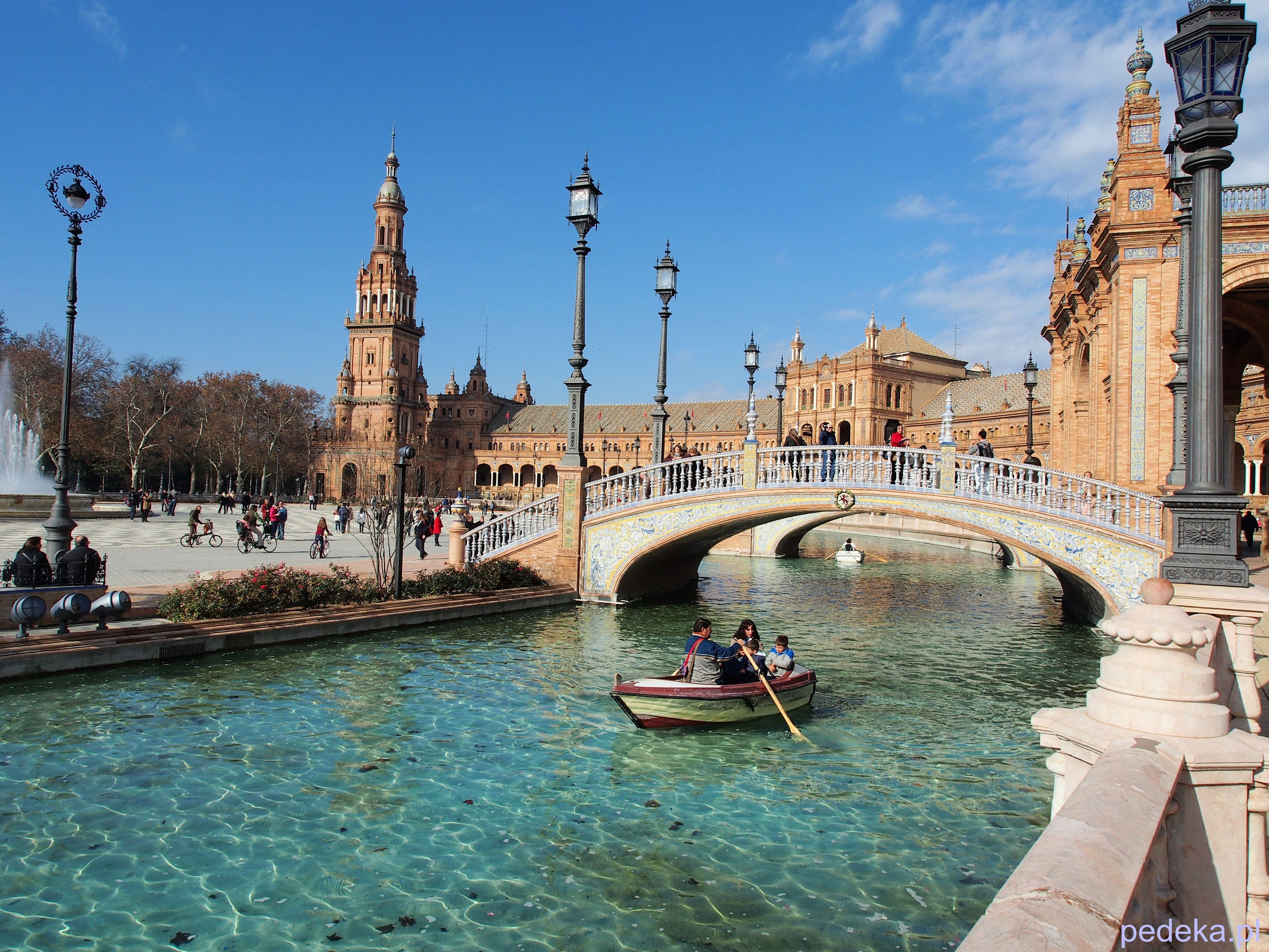 Sewilla zwiedzamy Plac Hiszpański