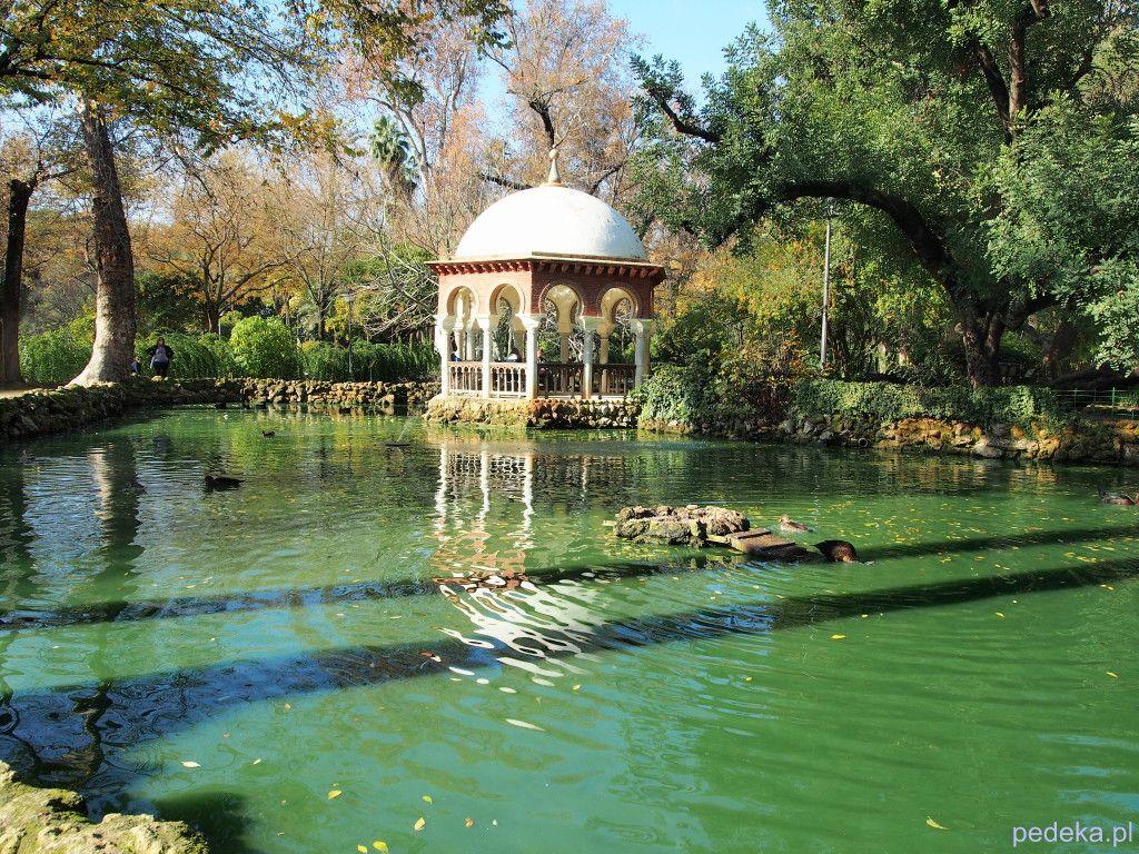 Sewilla zwiedzamy Park Marii Luizy
