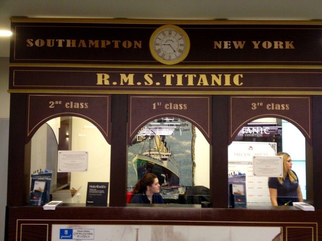 Wystawa o historii Titanica