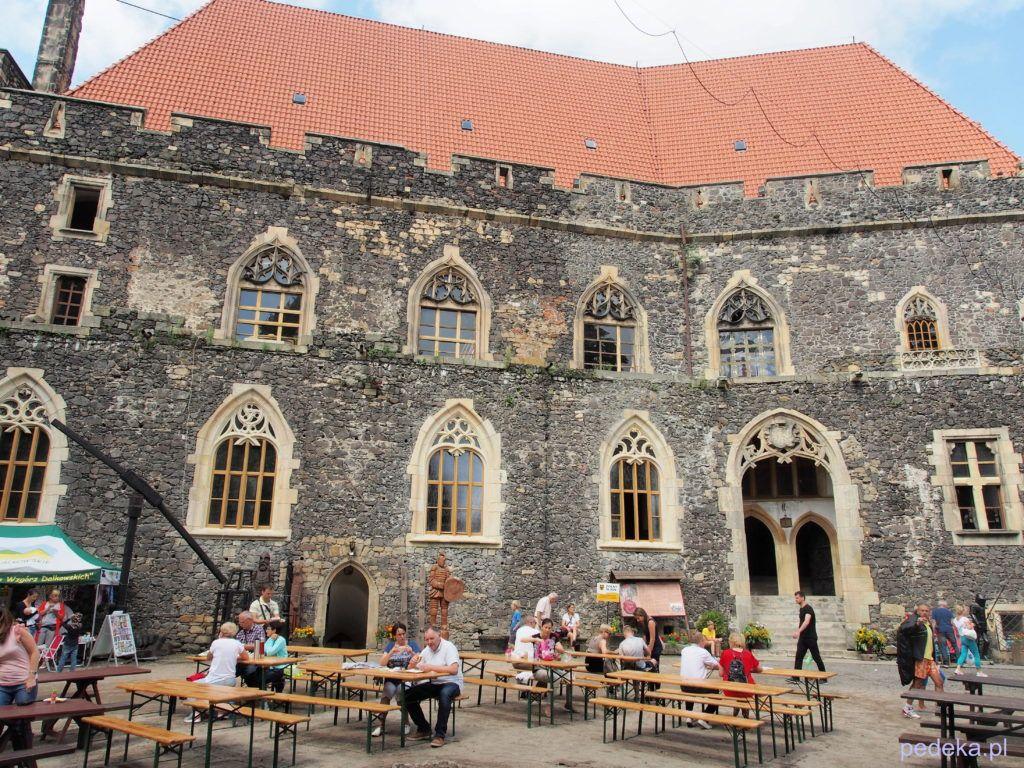 Zwiedzanie zamku Grodziec