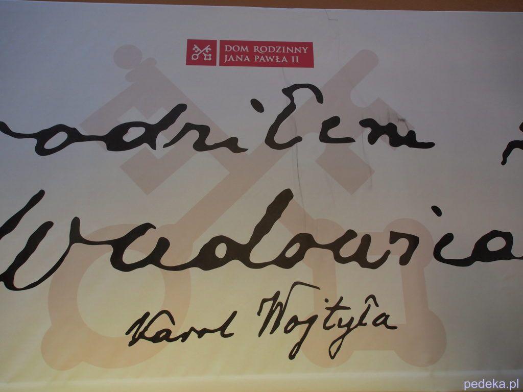 Zwiedzanie Muzeum Dom Rodzinny Jana Pawła II
