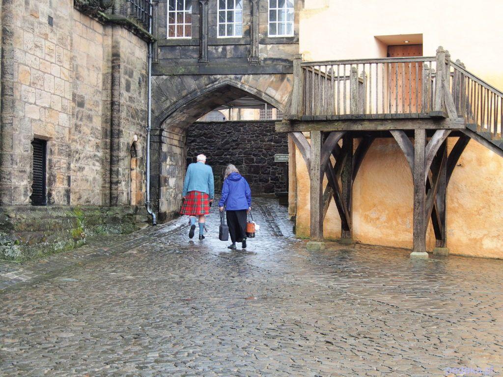 Zwiedzanie zamku Stirling