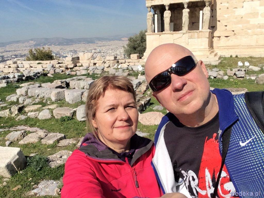 Zwiedzanie Aten