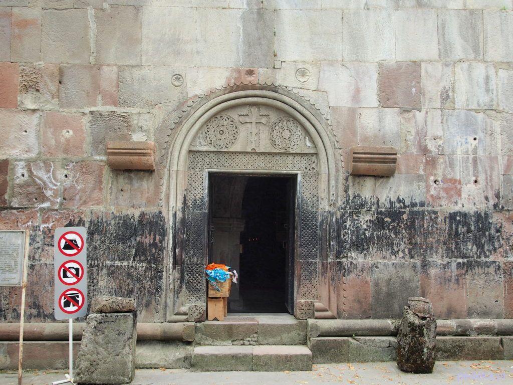 Zwiedzanie klasztoru Sapara