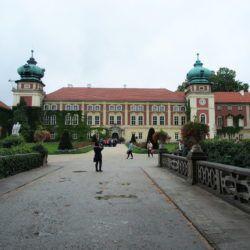 Zwiedzanie zamku w Łańcucie