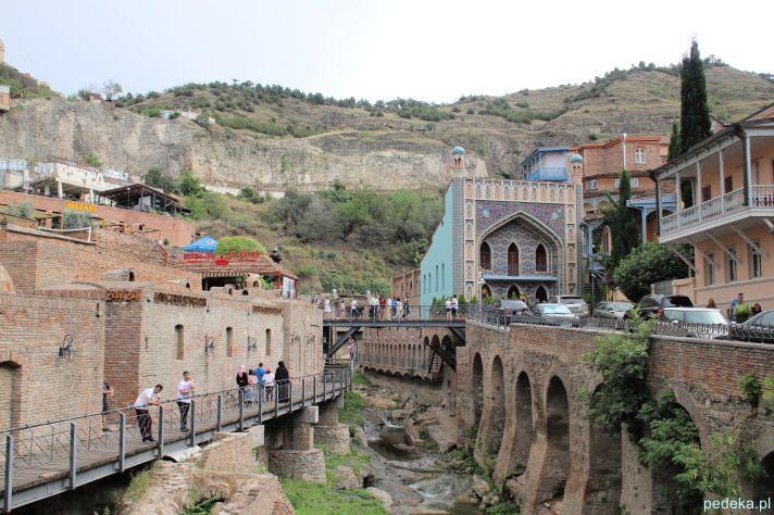Tbilisi dzielnica z łaźniami