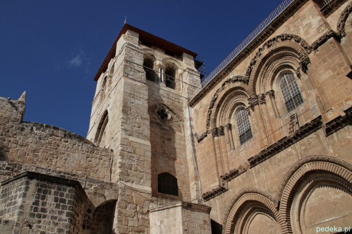 Jerozolima Bazylika Grobu Świętego, Ściana Płaczu i Stare Miasto