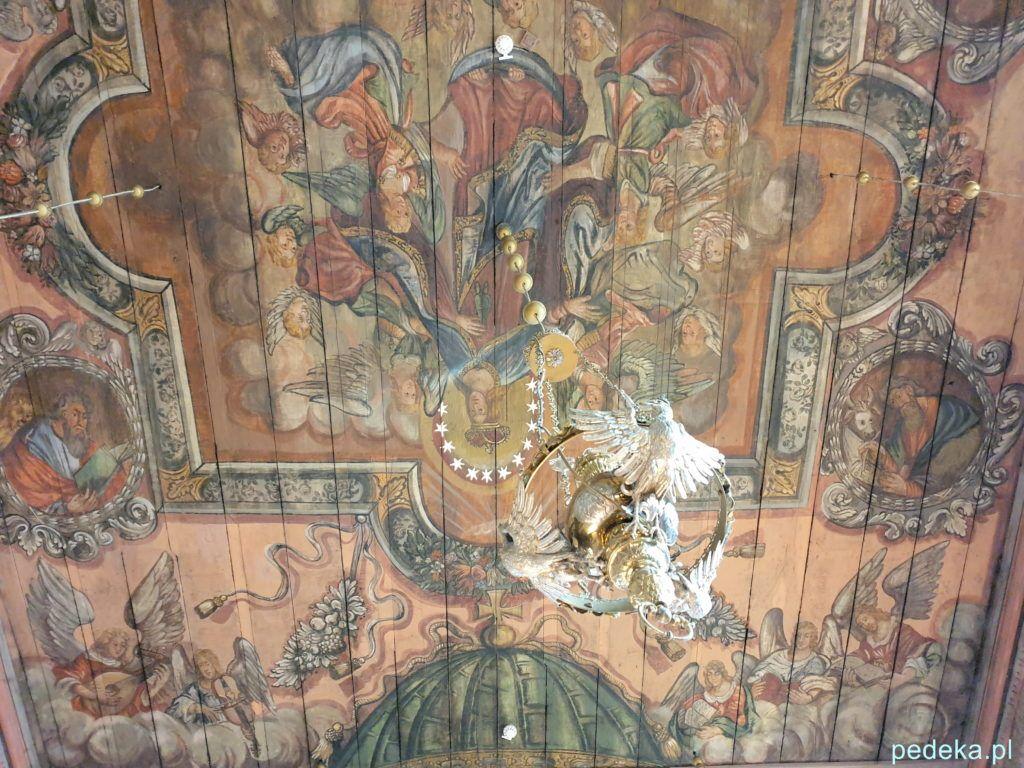 Kolejne malowidła w kościele w Gąsawie