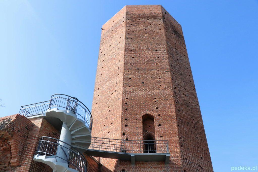 Mysia Wieża z okropnymi schodkami