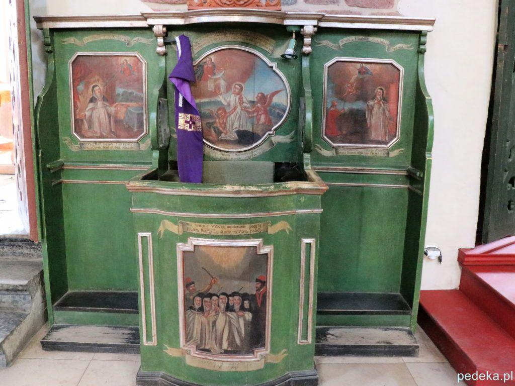 Malowany konfesjonał