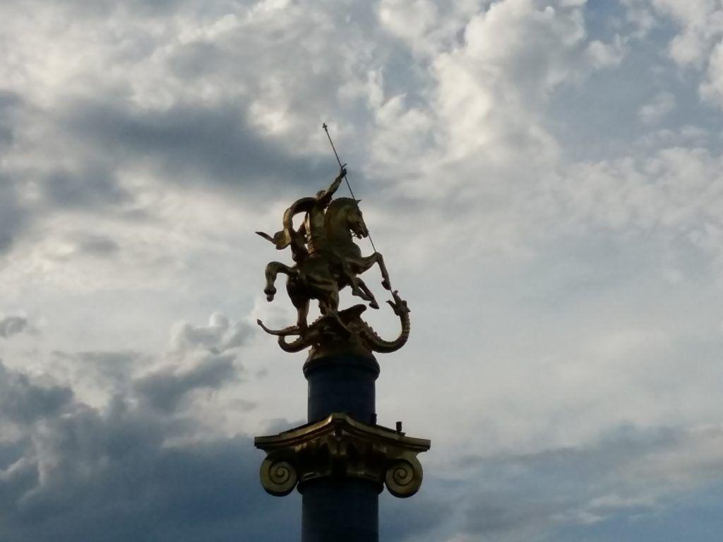 Pomnik świętego Jerzego w Tbilisi