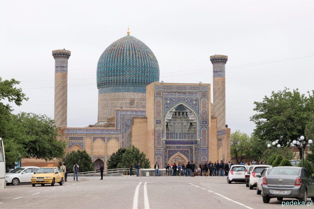 Mauzoleum Timura z zewnątrz