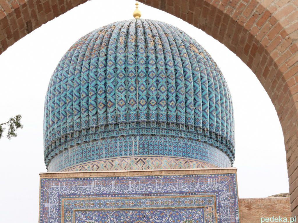 Mauzoleum Timura, piękna kopuła