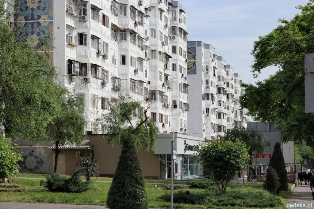 Budynek mieszkalny w Taszkiencie