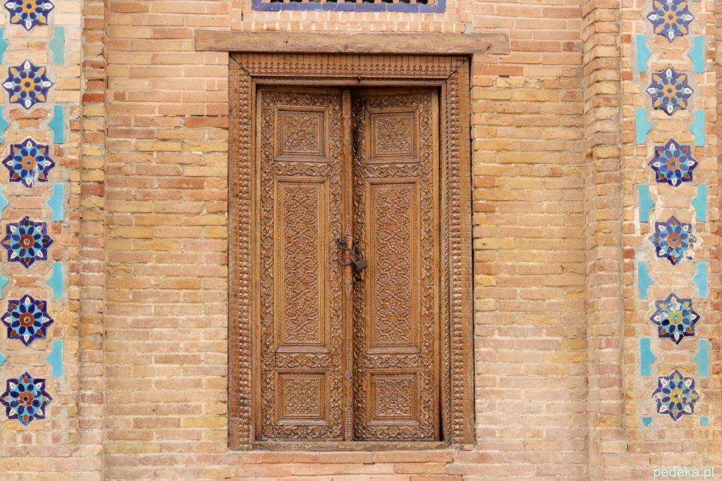 Samarkanda dzień ostatni.  Też na terenie mauzoleum