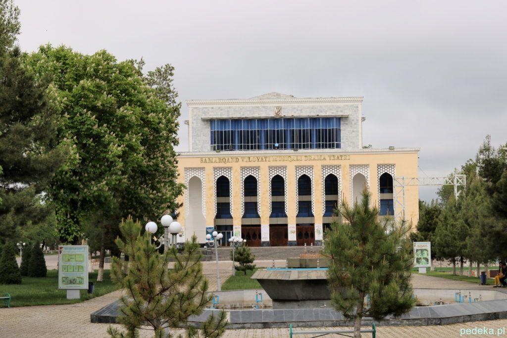 Teatr w Samarkandzie