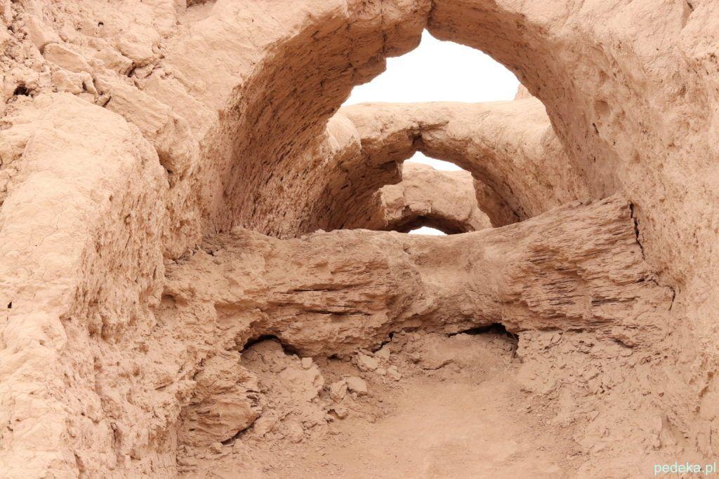 Wycieczka z Chiwy na Pustynię Kyzył-kum. Wewnątrz murów