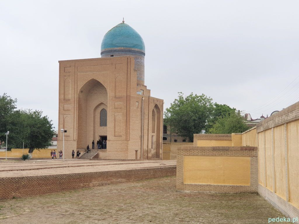 Samarkanda dzień ostatni. Malutkie mauzoleum Bibi Khanum